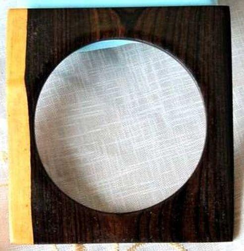 Bracelet ébène forme carré BEF9