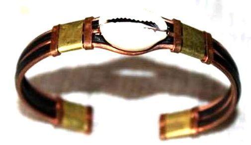 Bracelet brone cuivre métal BRBRCUME2