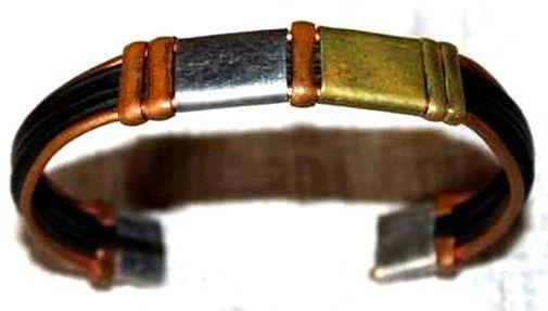 Bracelet brone cuivre métal BRBRCUME4