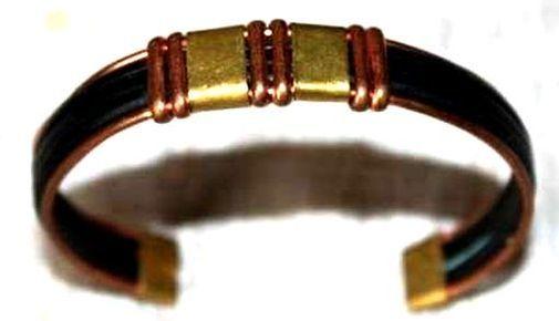 Bracelet brone cuivre métal BRBRCUME5