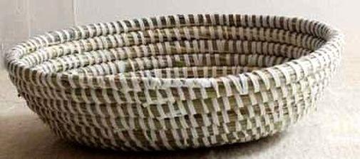 Boîte corbeille en paille tressée 2979-AX-56