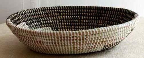 Boîte corbeille en paille tressée 2988-AX-62
