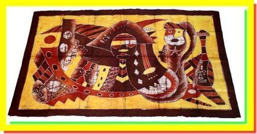 Batik Motifs variés BAMV1