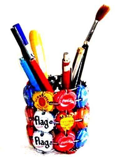 Boîte porte crayons en capsule BPPC3