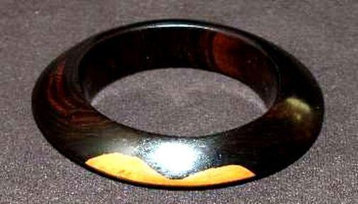 Bracelet en bois d'ébène BRE9