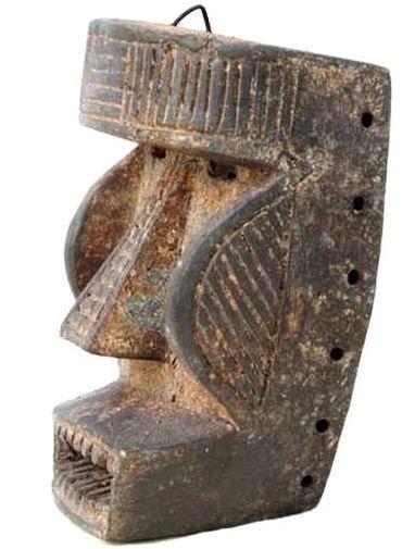 Masque Kran de Côte d'Ivoire, en bois, MACC-A3